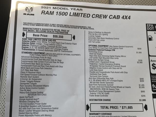 2021 Ram 1500 Crew Cab 4x4, Pickup #D210243 - photo 41
