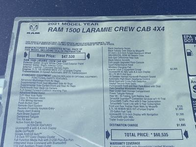 2021 Ram 1500 Crew Cab 4x4, Pickup #D210483 - photo 37