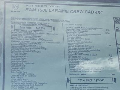 2021 Ram 1500 Crew Cab 4x4, Pickup #D210602 - photo 38