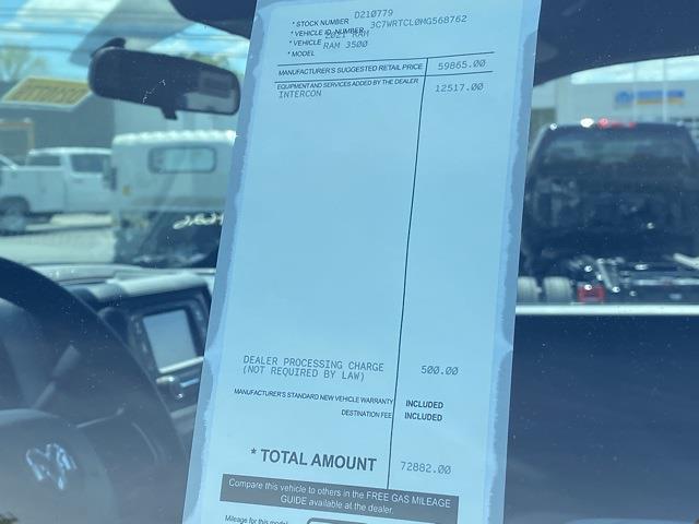 2021 Ram 3500 Crew Cab DRW 4x4, CM Truck Beds Platform Body #D210779 - photo 30
