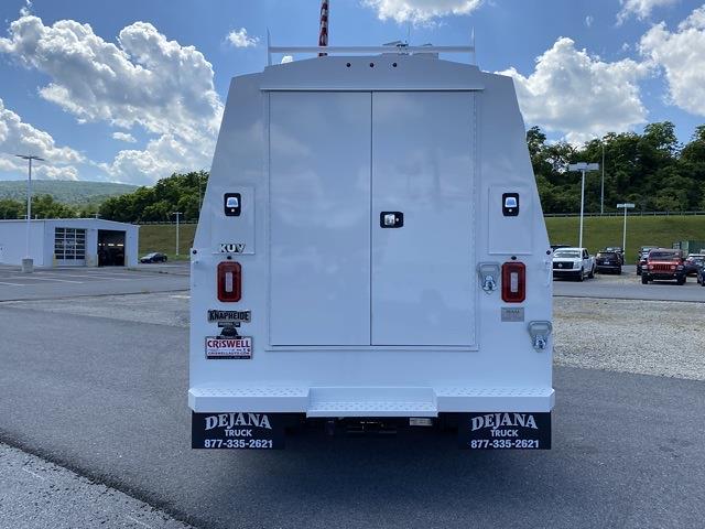 2021 Ram 5500 Regular Cab DRW 4x4, Knapheide KUVcc Service Body #D210844 - photo 4