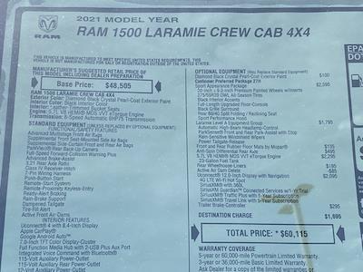 2021 Ram 1500 Crew Cab 4x4,  Pickup #D210890 - photo 38