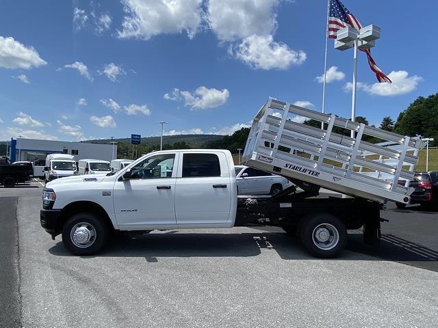 2021 Ram 3500 Crew Cab DRW 4x4, TruckCraft Stake Bed #D210908 - photo 11