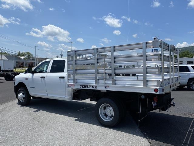 2021 Ram 3500 Crew Cab DRW 4x4, TruckCraft Stake Bed #D210908 - photo 1