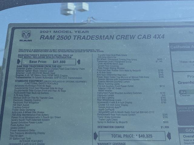 2021 Ram 2500 Crew Cab 4x4,  Pickup #D211045 - photo 37