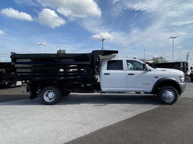 2021 Ram 5500 Crew Cab DRW 4x4,  Dejana Truck & Utility Equipment Landscape Dump #D211059 - photo 7