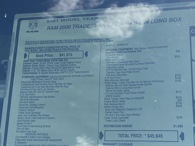 2021 Ram 2500 Crew Cab 4x4,  Knapheide Steel Service Body #D211068 - photo 40