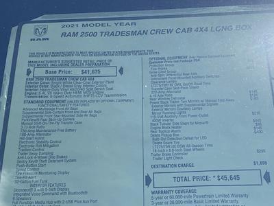 2021 Ram 2500 Crew Cab 4x4,  Knapheide Steel Service Body #D211070 - photo 40