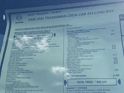 2021 Ram 2500 Crew Cab 4x4,  Knapheide Steel Service Body #D211071 - photo 38