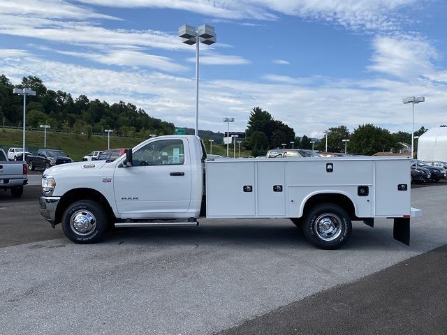 2021 Ram 3500 Regular Cab DRW 4x4,  Knapheide Steel Service Body #D211072 - photo 3