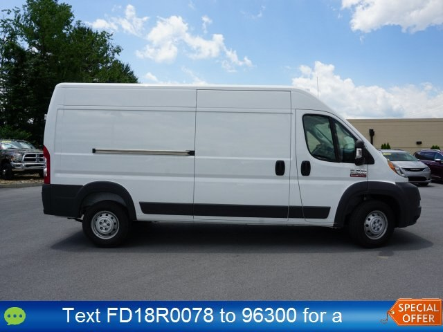 2018 ProMaster 2500 High Roof FWD,  Empty Cargo Van #18R0078 - photo 3