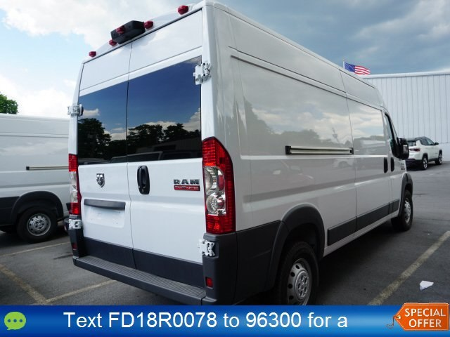 2018 ProMaster 2500 High Roof FWD,  Empty Cargo Van #18R0078 - photo 4