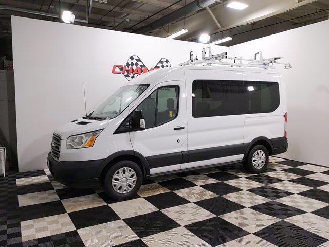 2016 Ford Transit 150 Medium Roof 4x2, Upfitted Cargo Van #CP3789 - photo 4