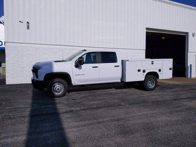 2020 Chevrolet Silverado 3500 Crew Cab DRW 4x2, Knapheide Steel Service Body #LF318651 - photo 3