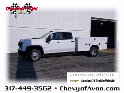 2020 Chevrolet Silverado 3500 Crew Cab DRW 4x2, Knapheide Steel Service Body #LF318651 - photo 1