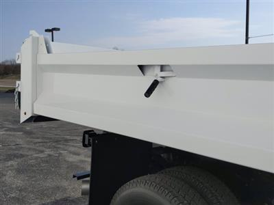2020 Chevrolet Silverado 3500 Regular Cab DRW 4x4, Clark Truck Equipment Dump Body #LF343630 - photo 11