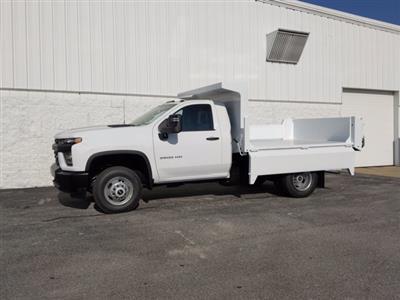 2020 Chevrolet Silverado 3500 Regular Cab DRW 4x4, Clark Truck Equipment Dump Body #LF343630 - photo 4