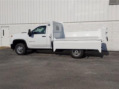 2020 Chevrolet Silverado 3500 Regular Cab DRW 4x4, Clark Truck Equipment Dump Body #LF343630 - photo 2