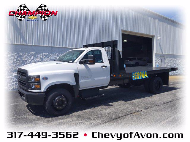 2020 Chevrolet Silverado Medium Duty Regular Cab DRW 4x2, Knapheide Platform Body #LH199987 - photo 1