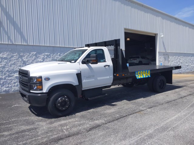 2020 Chevrolet Silverado Medium Duty Regular Cab DRW 4x2, Knapheide Value-Master X Platform Body #LH199987 - photo 4
