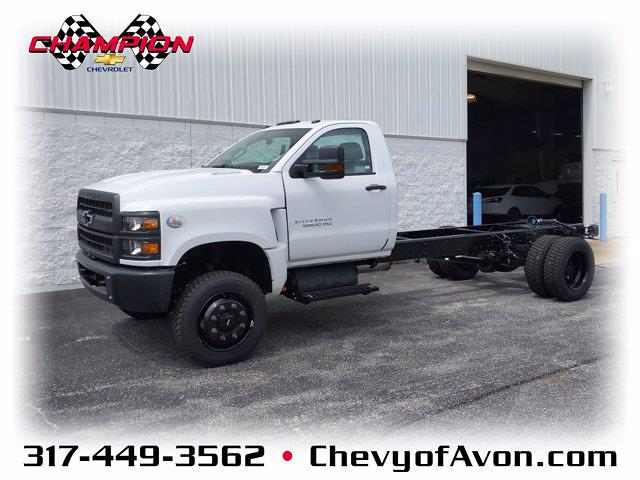 2020 Chevrolet Silverado Medium Duty Regular Cab DRW 4x4, Cab Chassis #LH617531 - photo 1