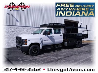 2020 Chevrolet Silverado Medium Duty Crew Cab DRW RWD, Knapheide Concrete Concrete Body #LH617533 - photo 1