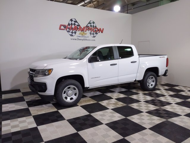 2021 Chevrolet Colorado Crew Cab 4x4, Pickup #M1165796 - photo 3