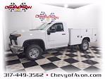 2021 Chevrolet Silverado 2500 Double Cab 4x4, Service Body #MF192340 - photo 1