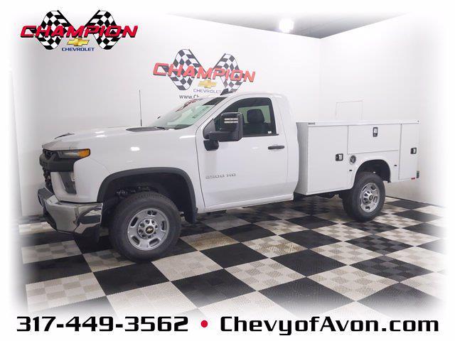 2021 Chevrolet Silverado 2500 Regular Cab 4x2, Service Body #MF203410 - photo 1