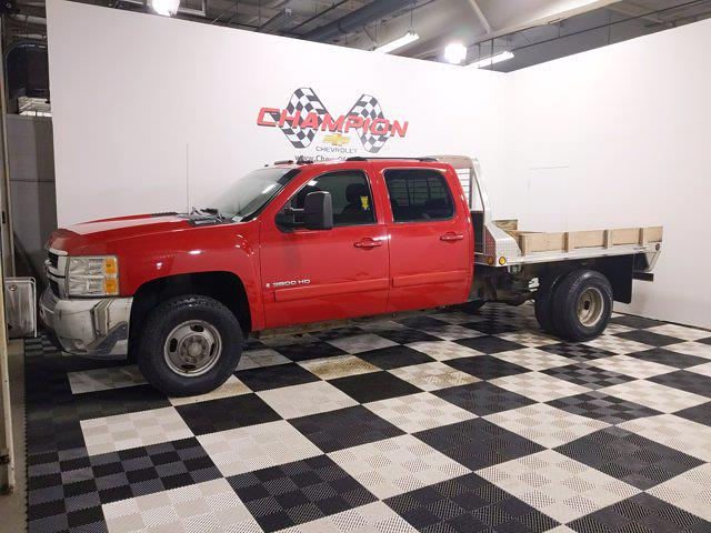 2007 Chevrolet Silverado 3500 Crew Cab 4x4, Platform Body #MF236130A - photo 3