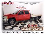 2007 Chevrolet Silverado 3500 Crew Cab 4x4, Platform Body #MF236130A - photo 1