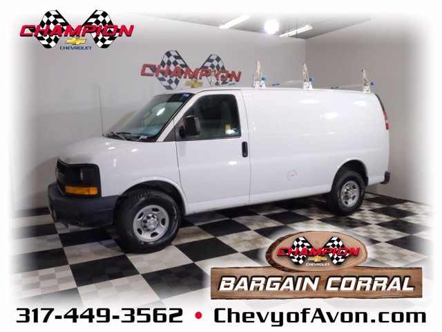 2016 Chevrolet Express 3500 4x2, Upfitted Cargo Van #MG189696A - photo 1
