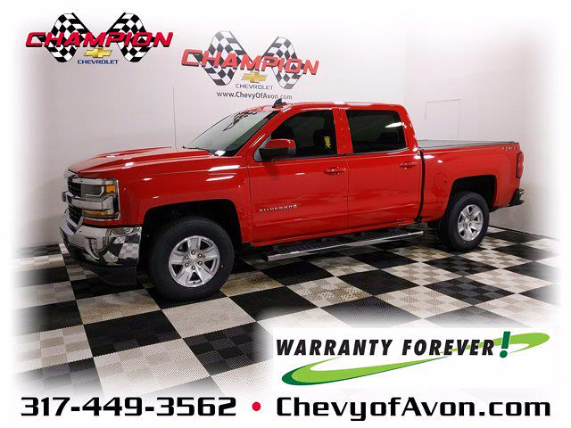 2018 Chevrolet Silverado 1500 Crew Cab 4x4, Pickup #MZ168529A - photo 1