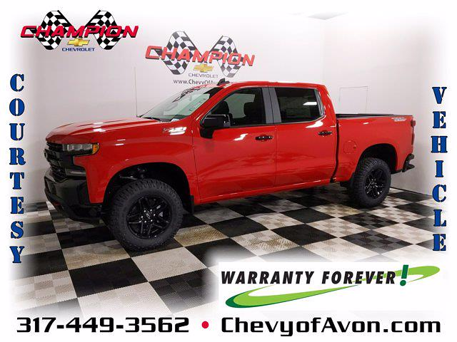 2021 Chevrolet Silverado 1500 Crew Cab 4x4, Pickup #MZ269722 - photo 1