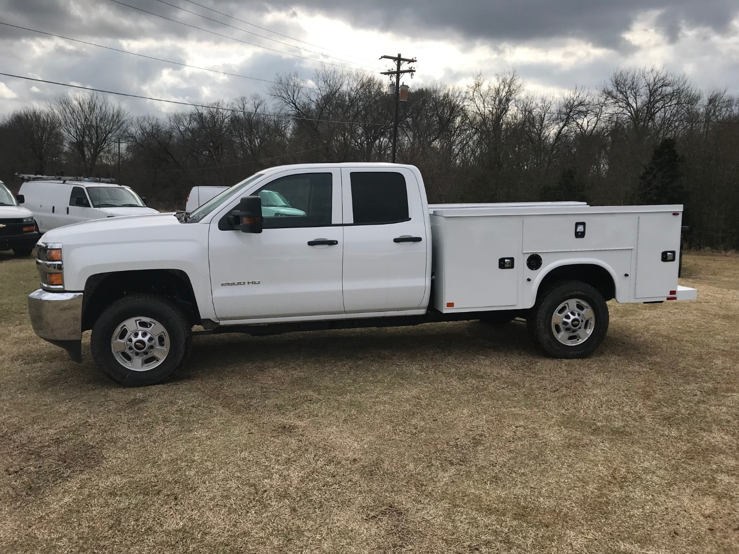 2019 Silverado 2500 Double Cab 4x4,  Knapheide Service Body #130634F - photo 4