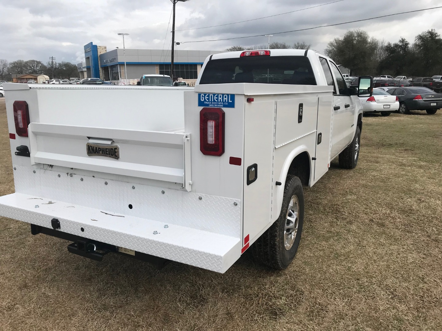 2019 Silverado 2500 Double Cab 4x4,  Knapheide Service Body #130634F - photo 8