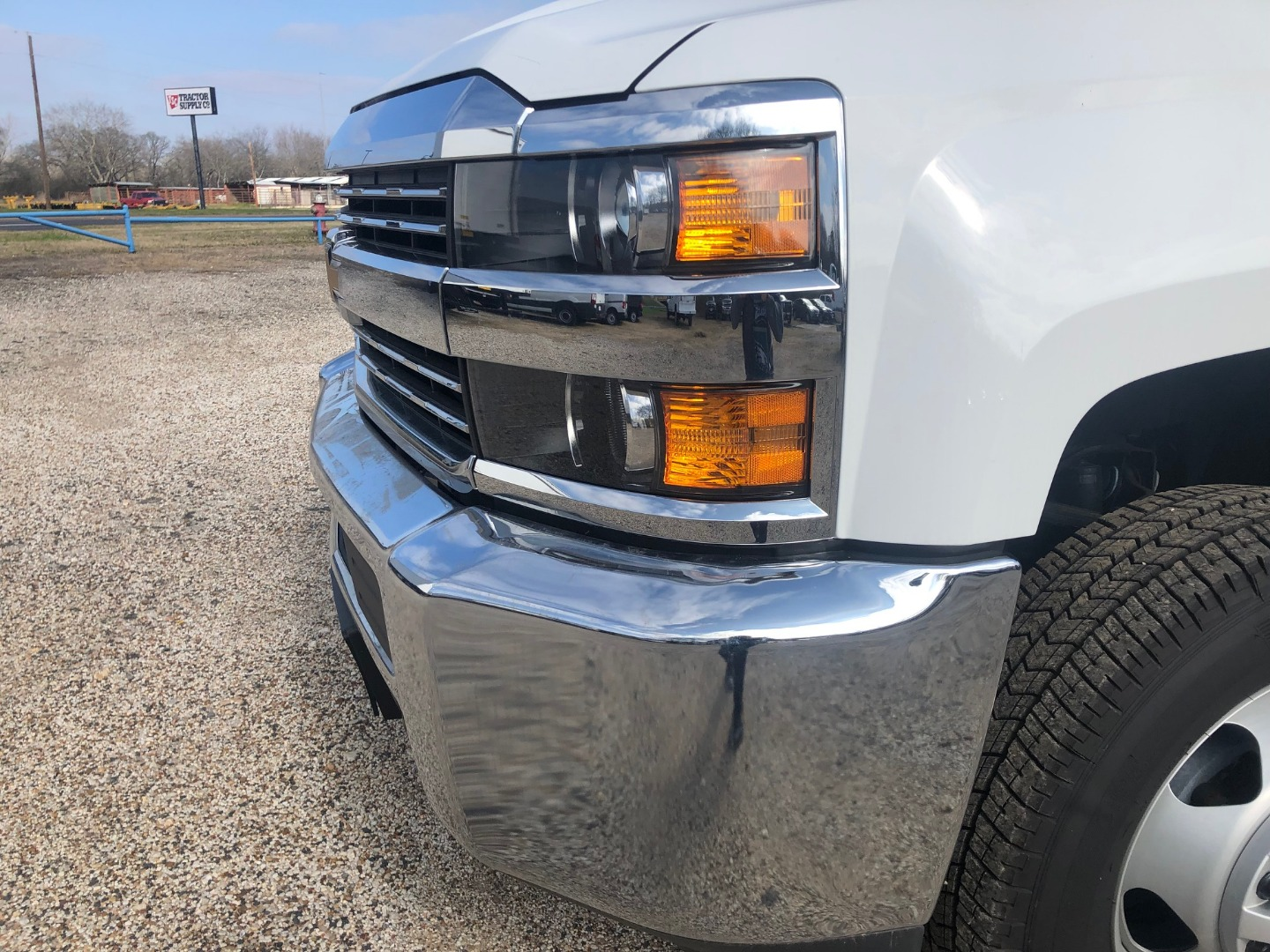 2018 Silverado 3500 Regular Cab DRW 4x4,  CM Truck Beds Platform Body #211590 - photo 7