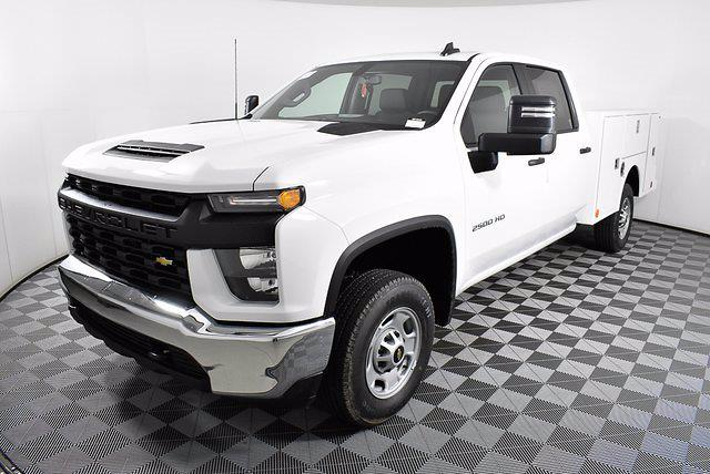 2021 Chevrolet Silverado 2500 Crew Cab 4x2, Warner Select Pro Service Body #251043 - photo 1