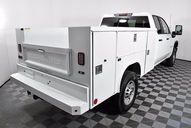 2021 Chevrolet Silverado 2500 Double Cab 4x4, Reading Service Body #251054 - photo 17