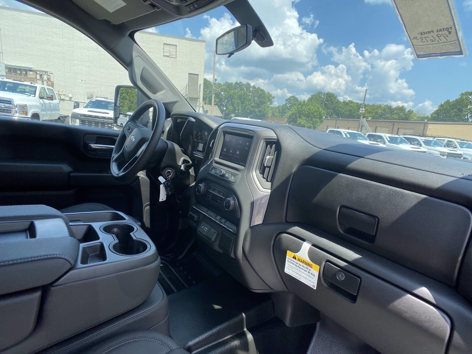 2021 Silverado 2500 Double Cab 4x2,  Warner Truck Bodies Service Body #251068 - photo 16