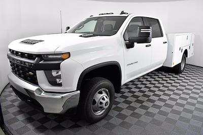 2021 Chevrolet Silverado 3500 Crew Cab 4x4, Knapheide Service Body #351000 - photo 1