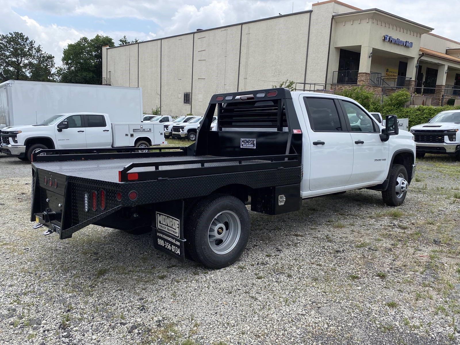 2021 Silverado 3500 Crew Cab 4x4,  Monroe Truck Equipment Platform Body #351015 - photo 5