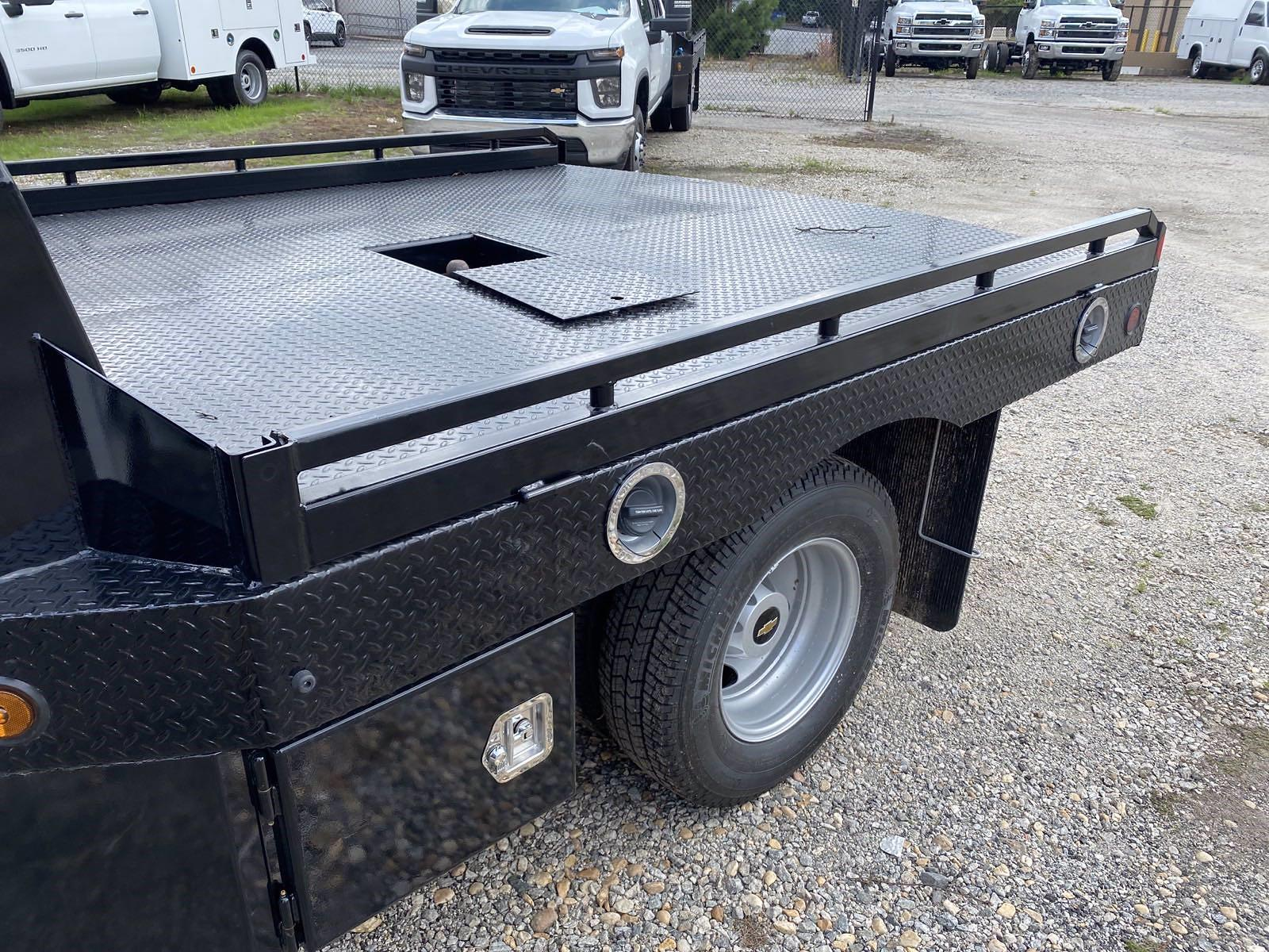 2021 Silverado 3500 Crew Cab 4x4,  Monroe Truck Equipment Platform Body #351017 - photo 13
