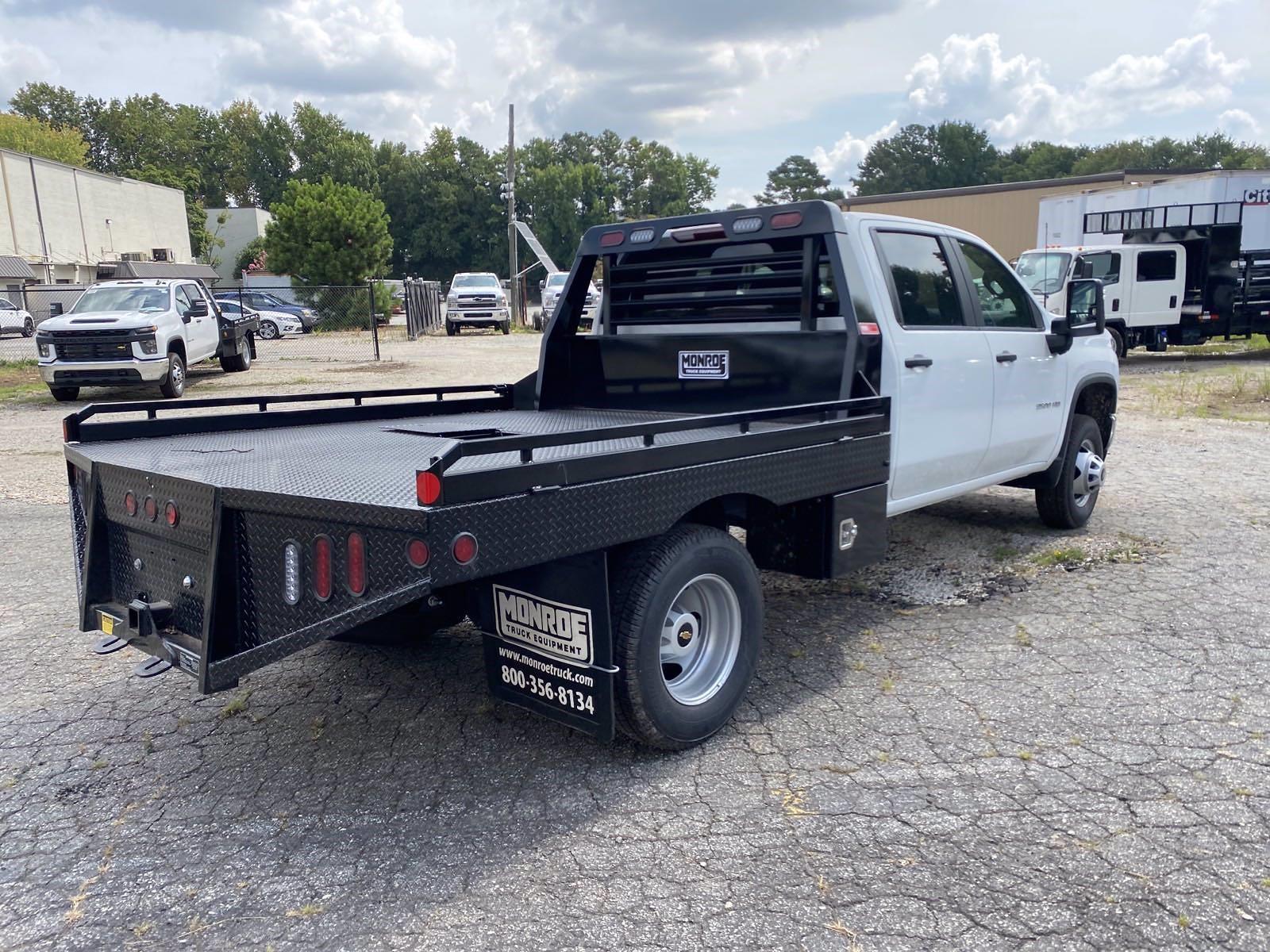 2021 Silverado 3500 Crew Cab 4x4,  Monroe Truck Equipment Platform Body #351017 - photo 6