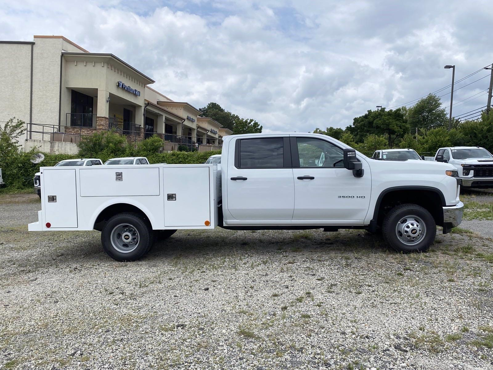 2021 Silverado 3500 Crew Cab 4x2,  Warner Truck Bodies Service Body #351028 - photo 3