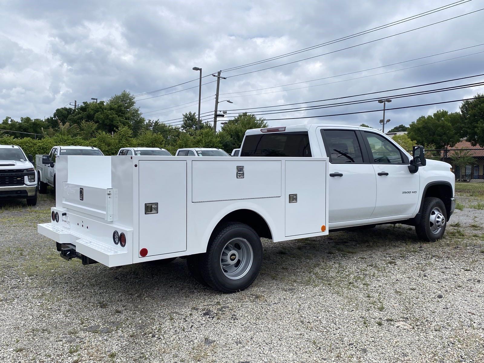 2021 Silverado 3500 Crew Cab 4x2,  Warner Truck Bodies Service Body #351028 - photo 4