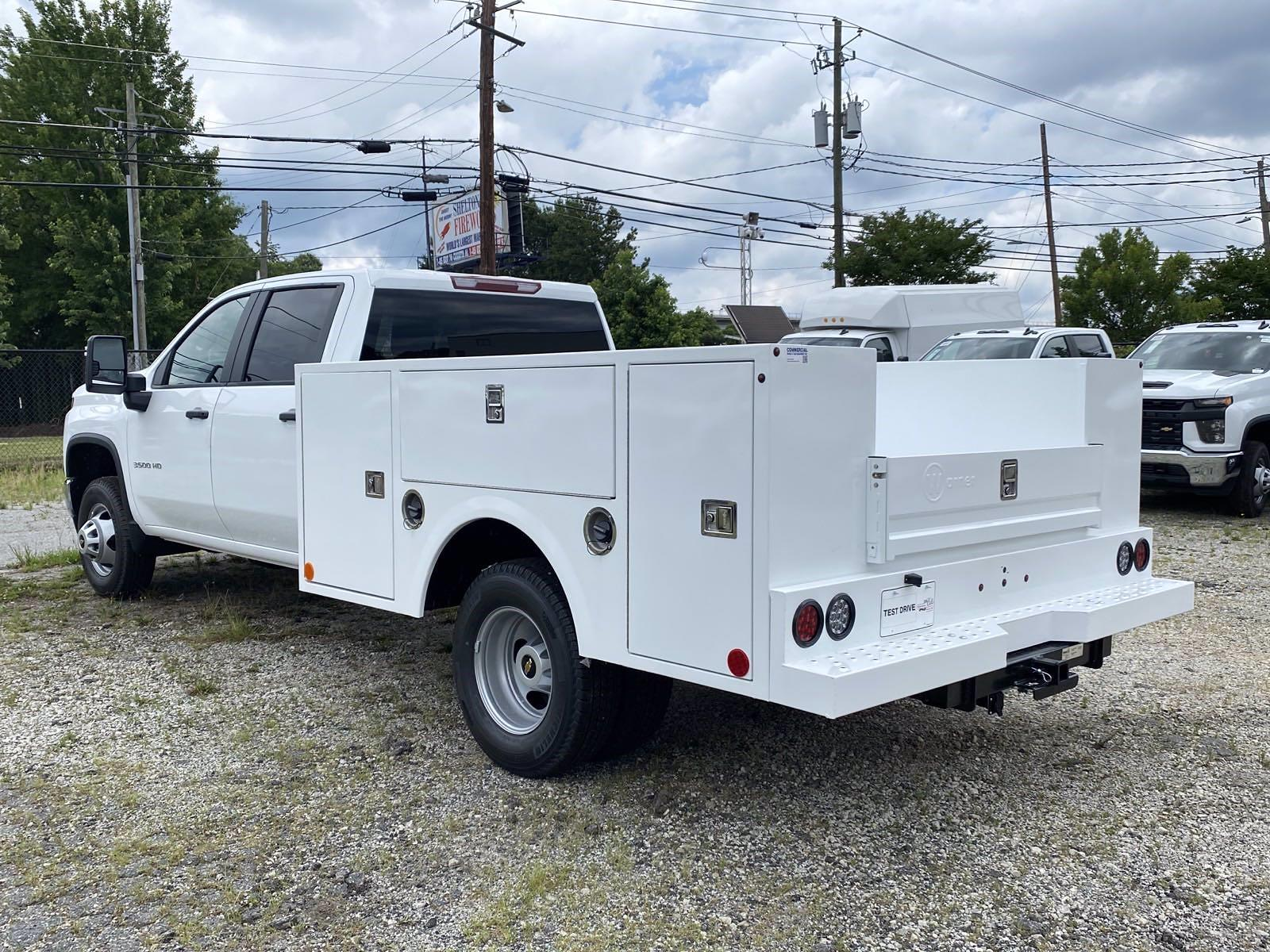 2021 Silverado 3500 Crew Cab 4x2,  Warner Truck Bodies Service Body #351028 - photo 2