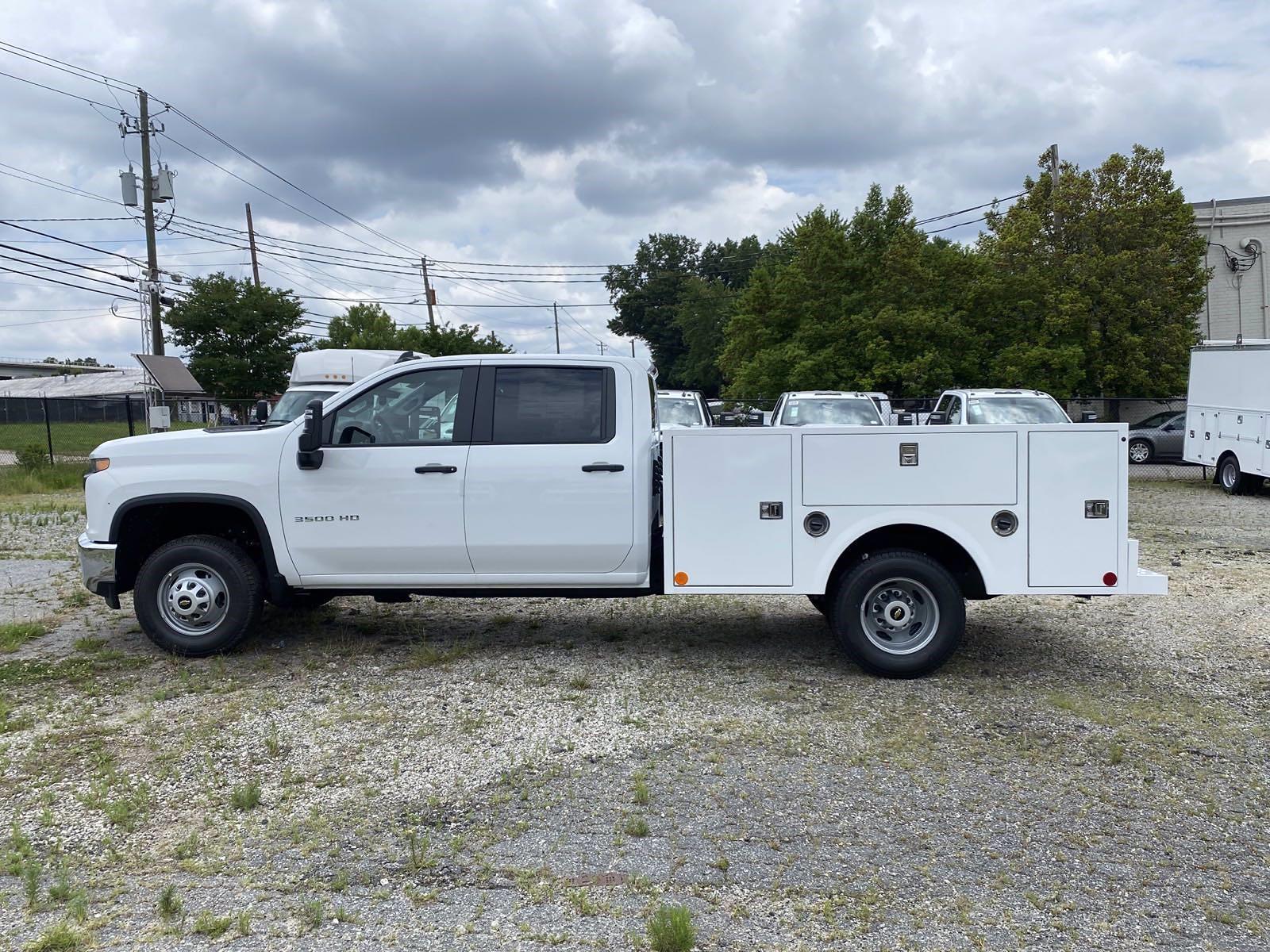 2021 Silverado 3500 Crew Cab 4x2,  Warner Truck Bodies Service Body #351028 - photo 6