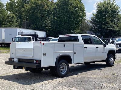 2021 Silverado 3500 Crew Cab 4x2,  Monroe Truck Equipment MSS II Service Body #351029 - photo 2