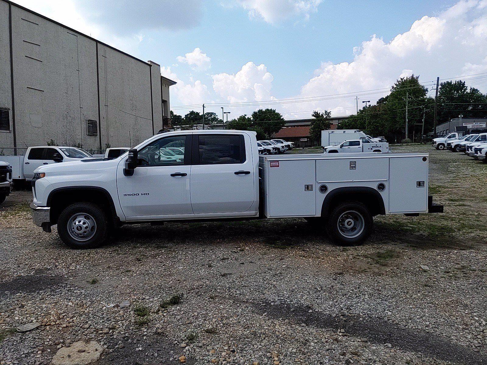 2021 Silverado 3500 Crew Cab 4x2,  Monroe Truck Equipment MSS II Service Body #351030 - photo 4